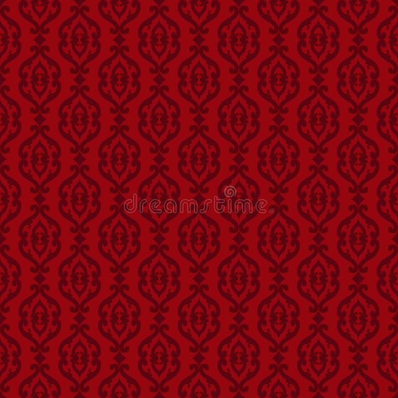 Elegant classic barocco seamless pattern royalty free illustration