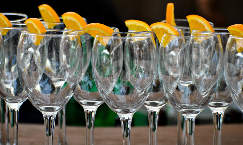 Download Elegant cocktail stock photo. Image of glasses, modern - 5399070
