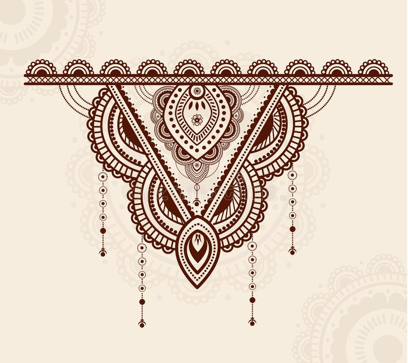 Elegant colorful and luxury mandala ornament design. Jewelry design concept vector illustration