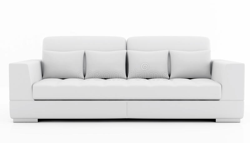 Elegant couch royalty free stock photos