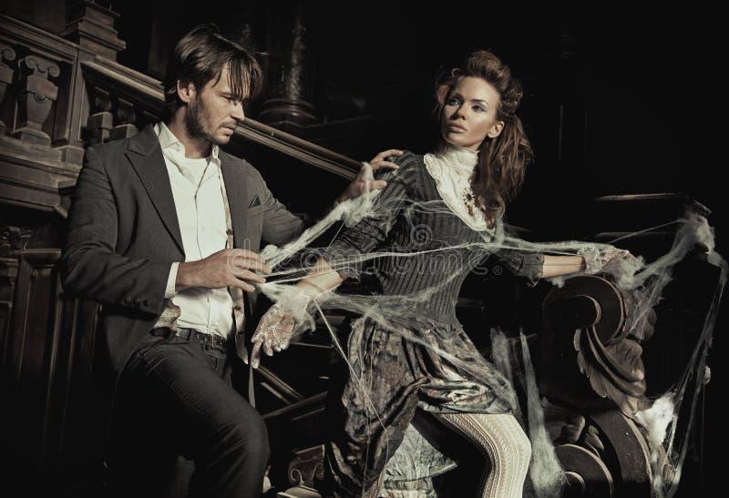 Elegant Couple Stock Images
