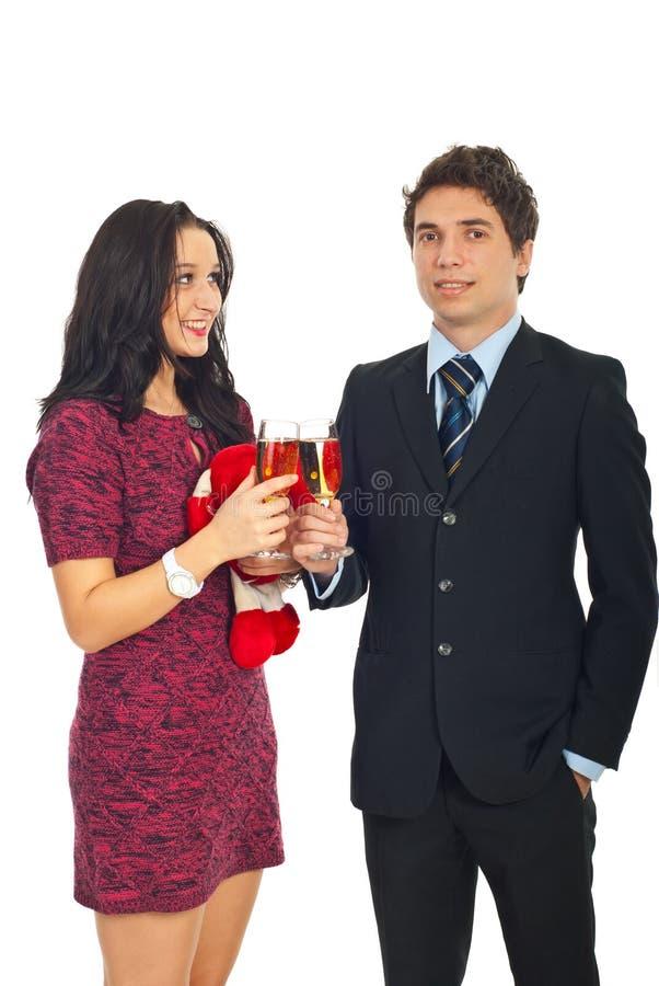 Download Elegant Couple Celebrate Valentine's Day Stock Photo - Image: 17787808