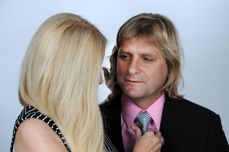 Elegant couple royalty free stock image