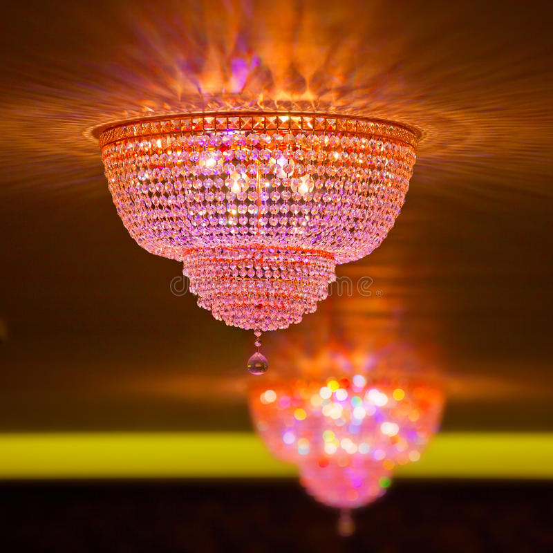 Download Elegant Crystal Chandeliers Stock Photo - Image: 21686654