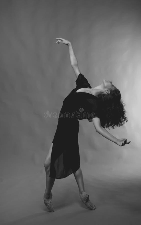 elegant dansare royaltyfria foton