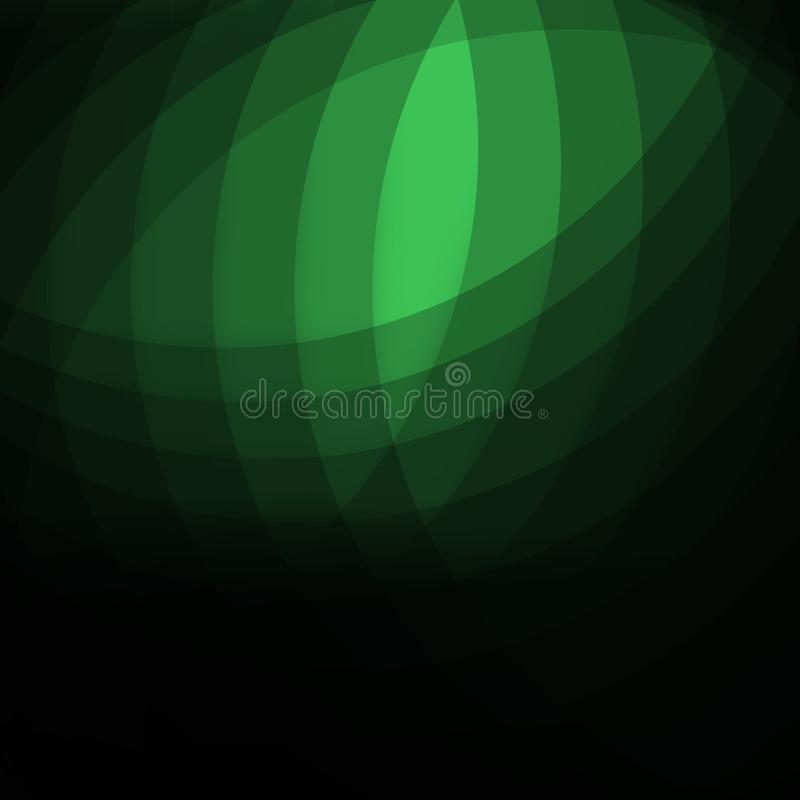 Elegant dark green abstract background design with space for your text royalty free illustration