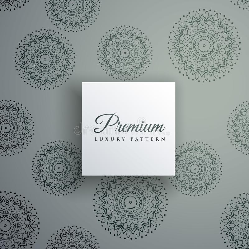 Elegant decorative ethnic pattern vector background vector illustration