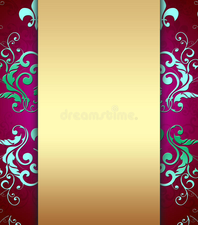 Elegant Design stock illustration