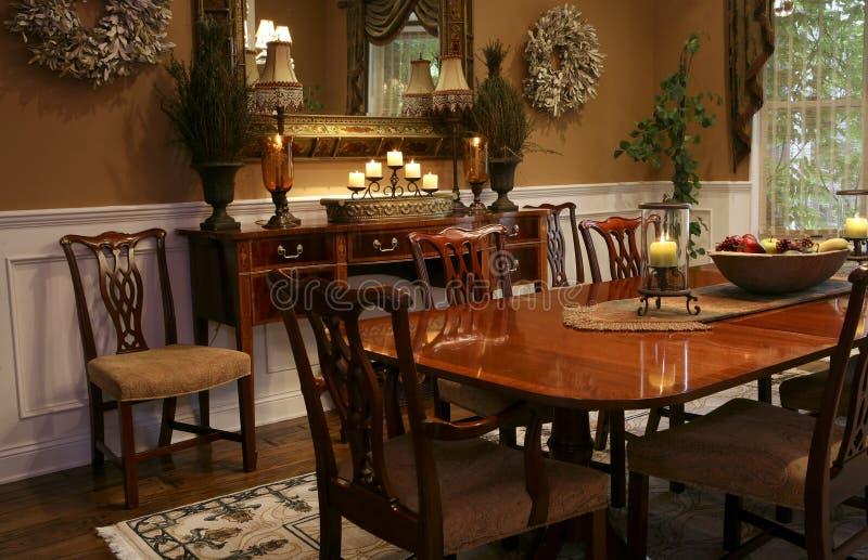 Elegant Dining Room stock photo