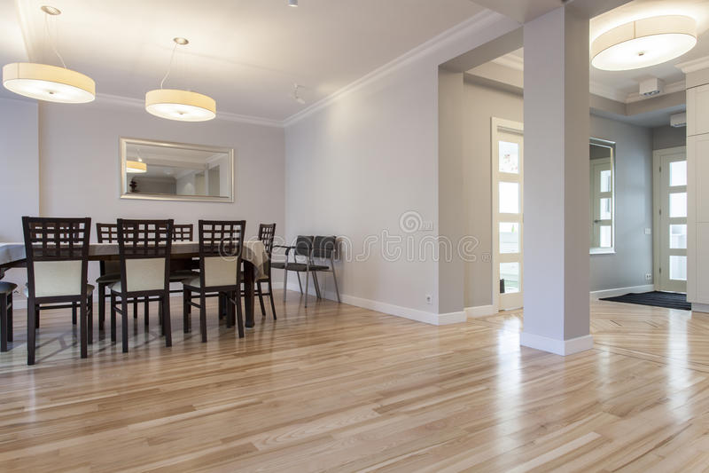 Elegant dining room royalty free stock photography
