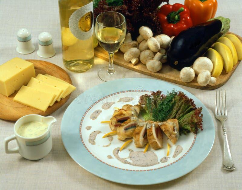 Elegant dinner royalty free stock photography