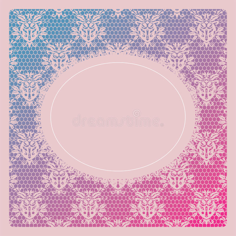 Download Elegant Doily On Lace Gentle Background Stock Vector - Image: 26560616
