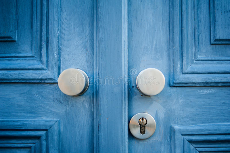 Elegant door handle stock image. Image of knob, metallic - 37832551