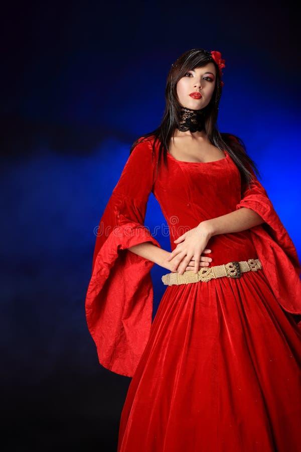 Download Elegant dress stock image. Image of medieval, female - 13558985