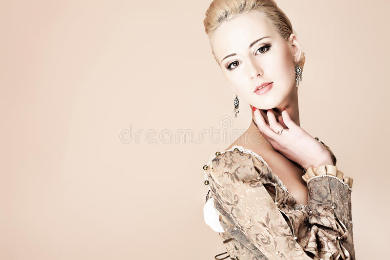Elegant dress stock photo