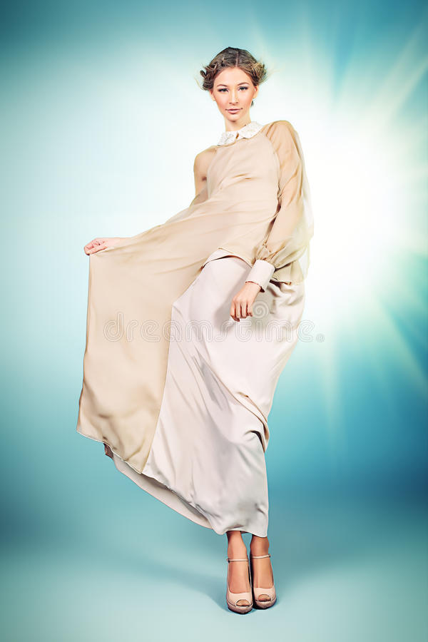 Elegant dress royalty free stock photo