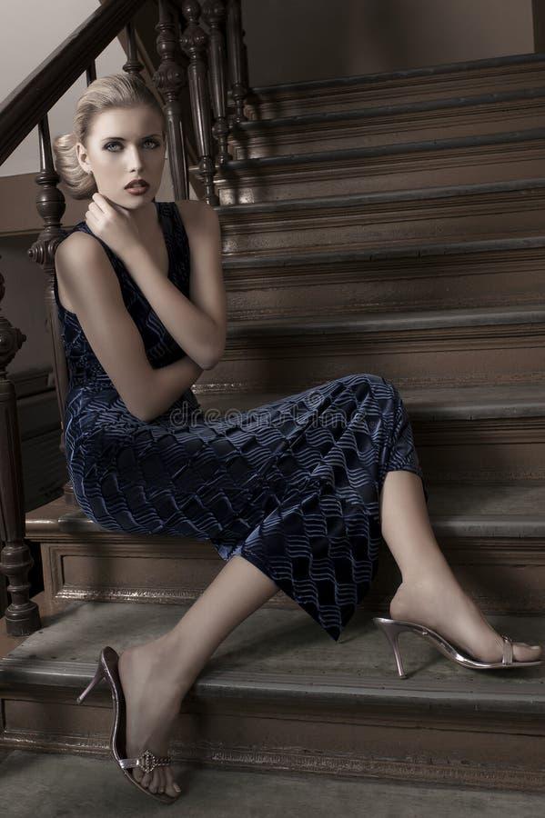 Download Elegant fashion portrait stock image. Image of hair, nice - 21981751