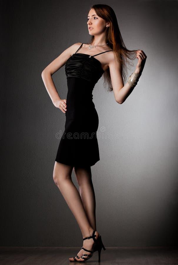 Download Elegant fashionable woman stock image. Image of brilliant - 21407059