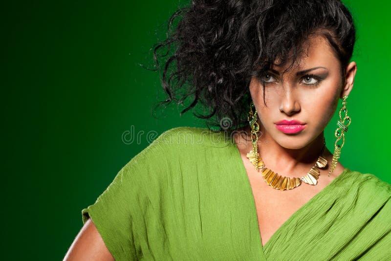 Download Elegant fashionable woman stock photo. Image of beauty - 25553038