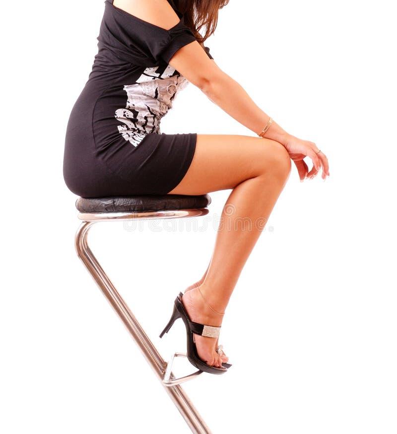 Elegant female body royalty free stock photo
