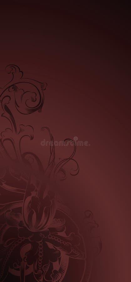 Elegant floral background vector illustration