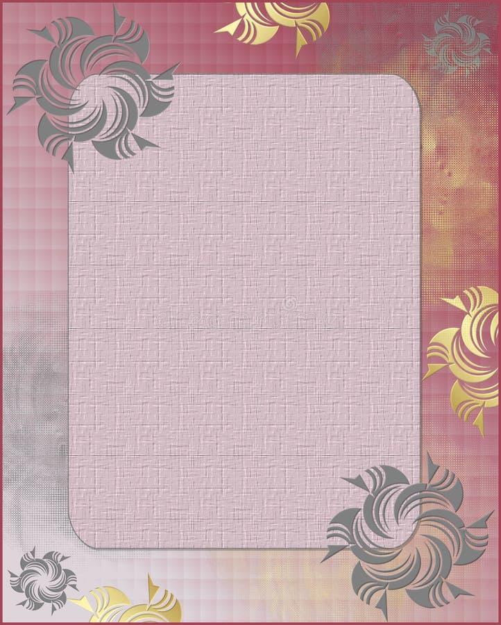 Elegant Frame stock illustratie