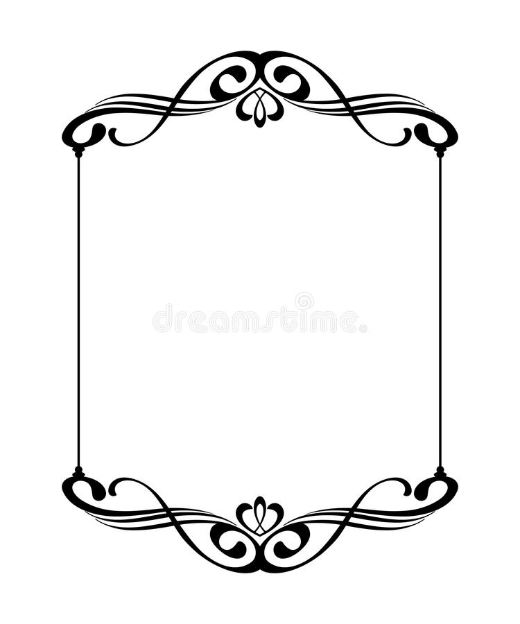 elegant frames vector illustration stock vector illustration of rh dreamstime com frame vector download glasses vector
