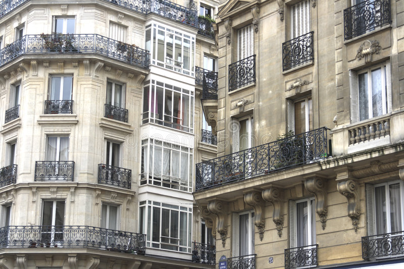 Download Elegant French Apartments Stock Image. Image Of Travel   2504597