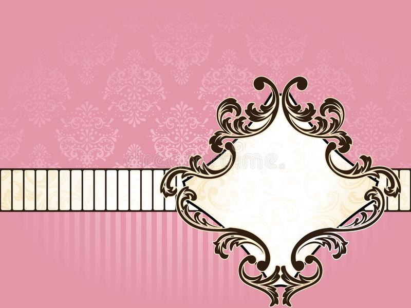Download Elegant French Vintage Label, Horizontal Royalty Free Stock Images - Image: 13547149
