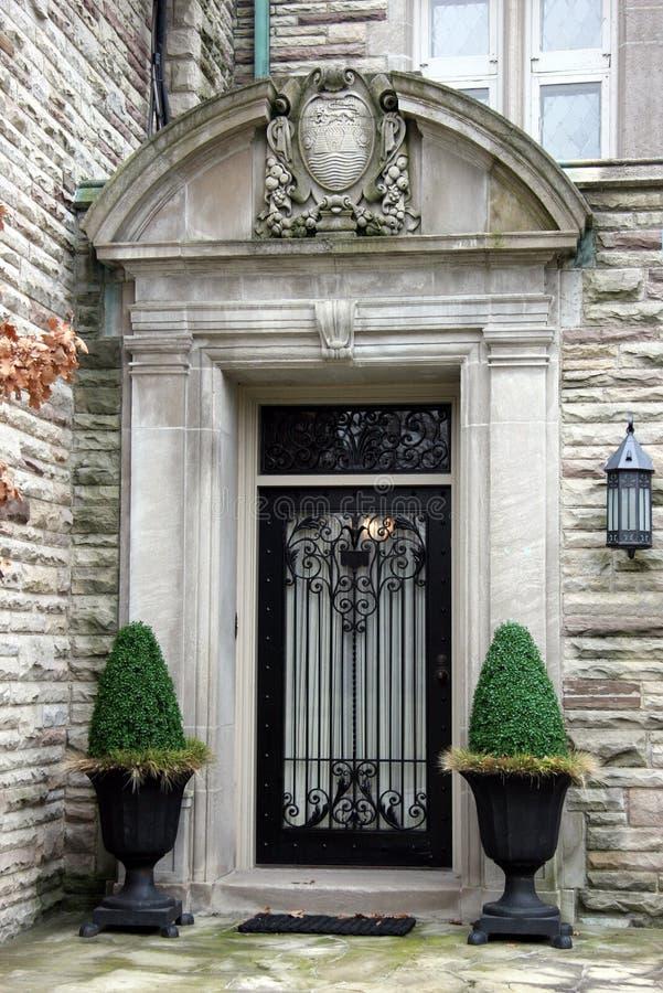 Elegant Front door royalty free stock image
