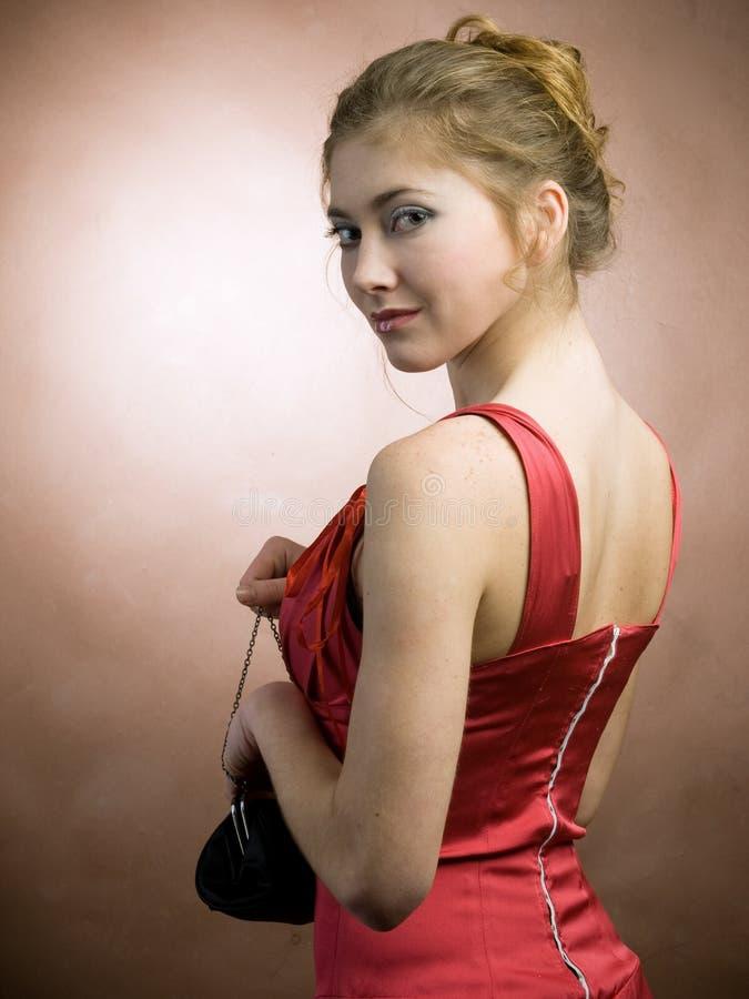 Elegant girl stock images