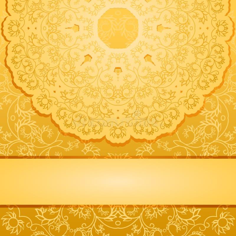 Elegant Gold Background Stock Vector Image 43134436