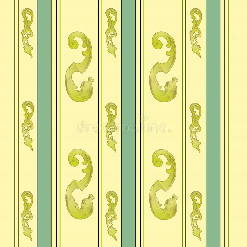 Download Elegant Gold And Green Background Stock Vector - Image: 41144810