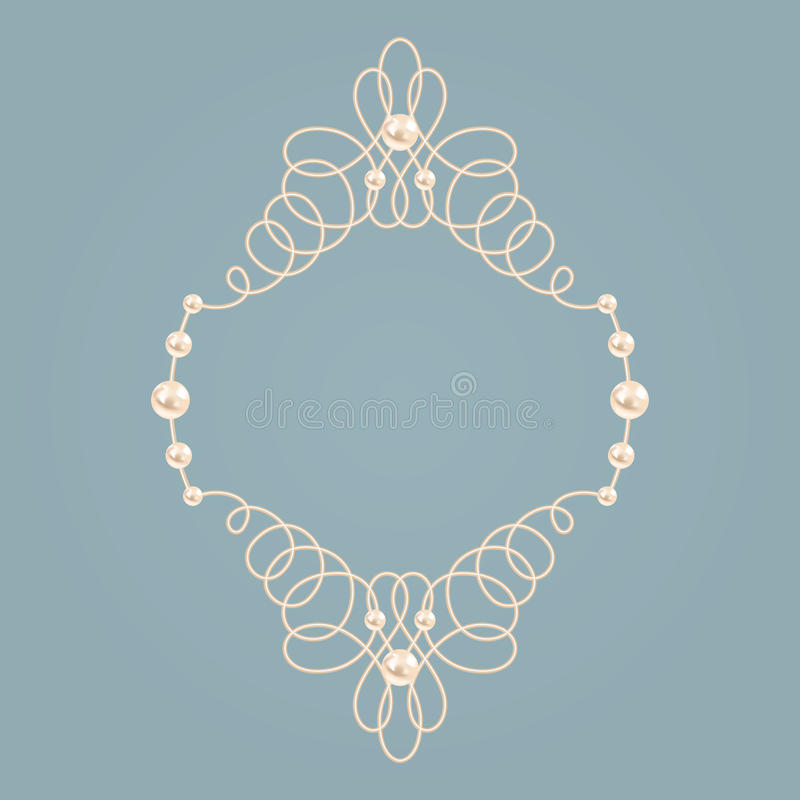 Free Elegant Golden Knot Frame. Vector Illustration. Royalty Free Stock Photography - 94962187