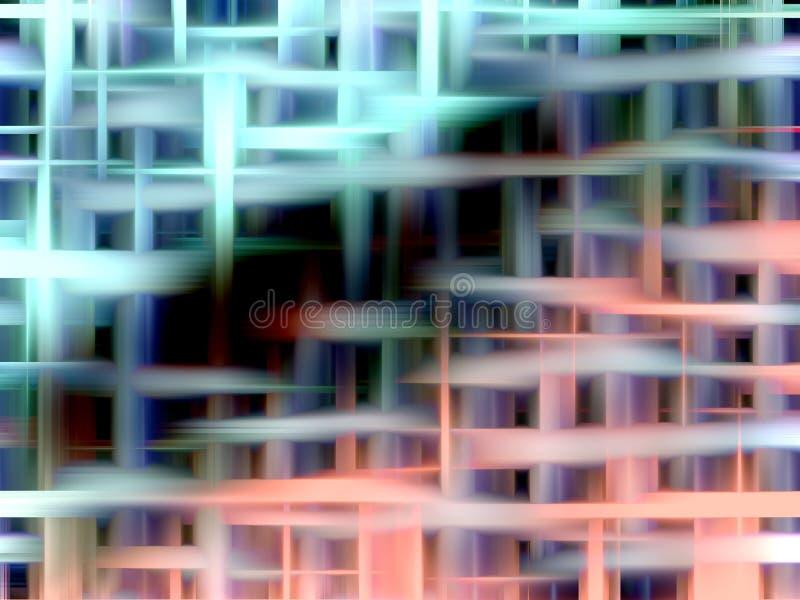 Elegant gräsplan- och rosa färgbakgrund arkivfoto