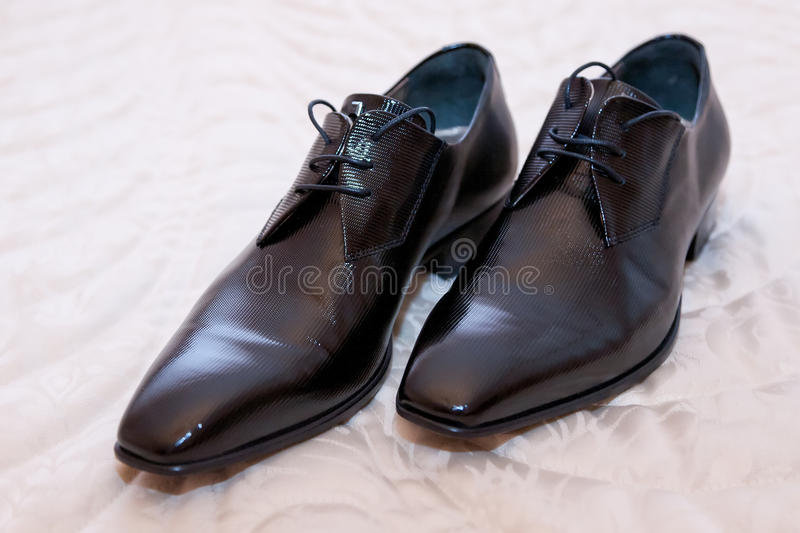 Groom shoes stock images