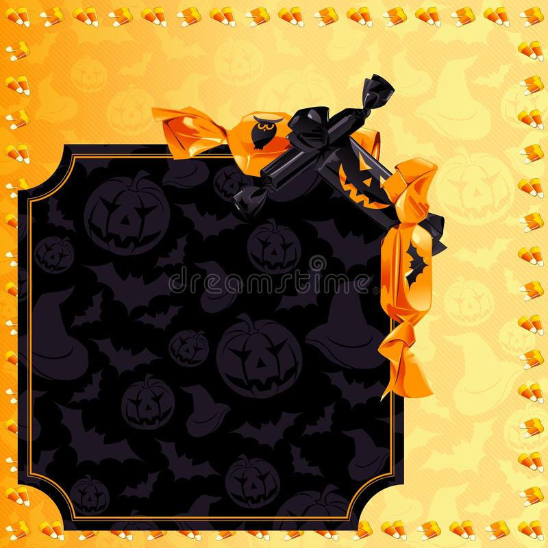 Free Elegant Halloween Candy Background Royalty Free Stock Photography - 30164917