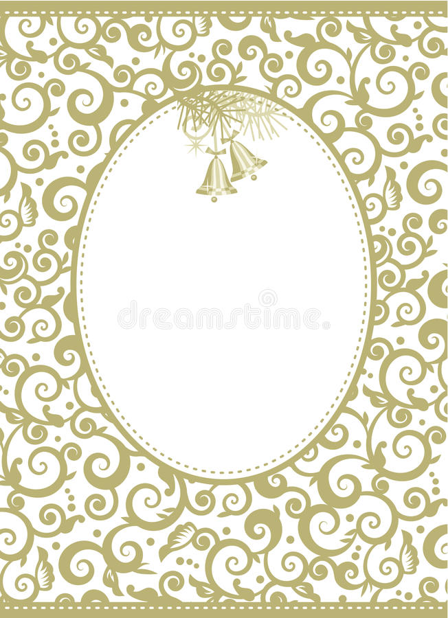 Download Elegant Holiday Background With Jingle Bells Stock Vector - Image: 22385015