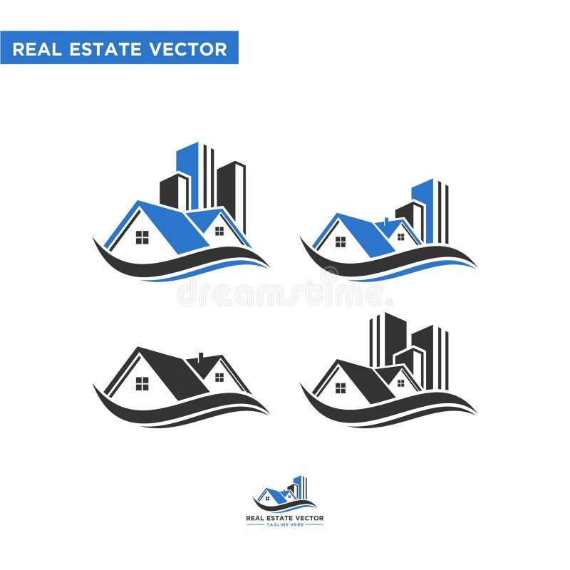 Real Estate vector. Home vector. home logo. House vector. appartment vector. roofing logo. roofing vector. Elegant vector for home, house, real estate, roofing stock illustration