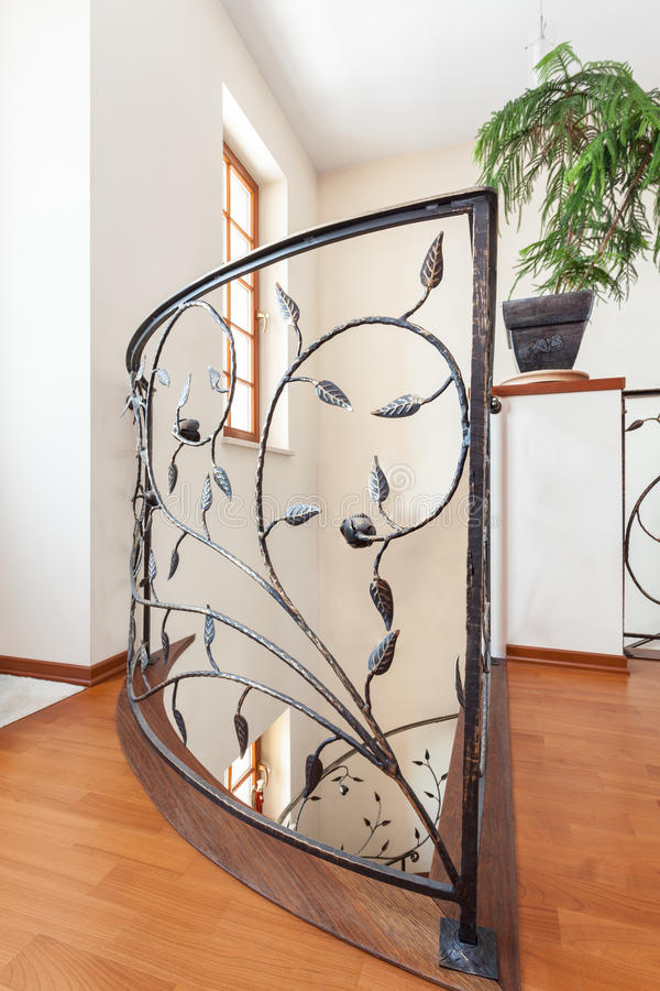Elegant huis - Leuning stock fotografie