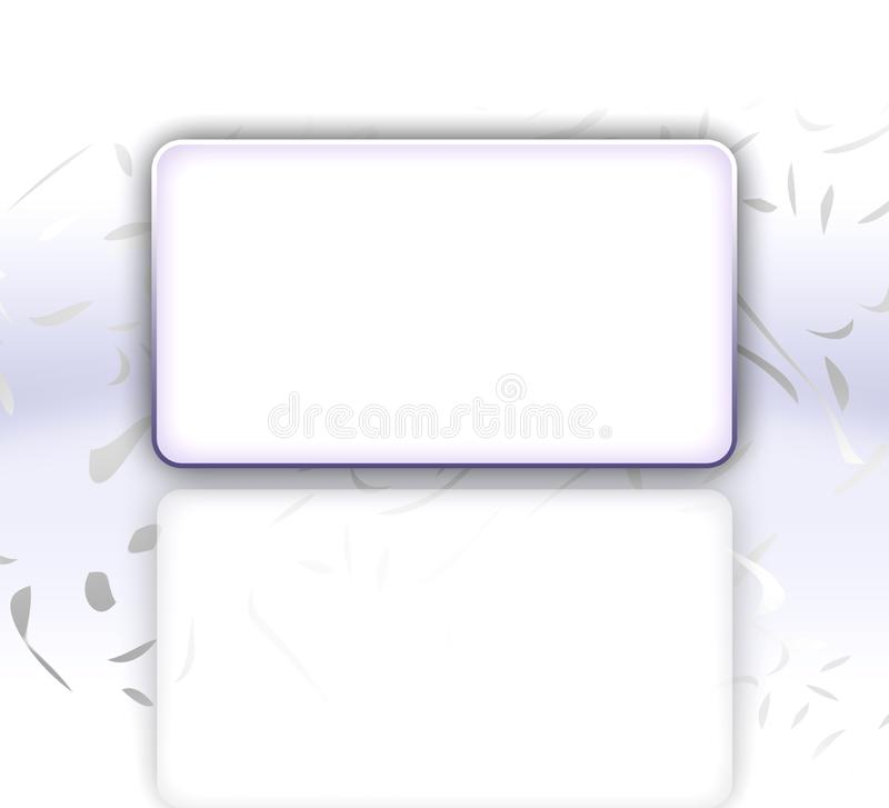 Elegant Invitation Card royalty free stock image