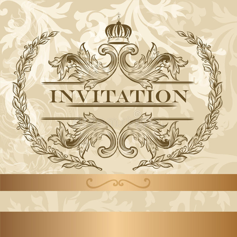 Elegant invitation card in light colors stock vector illustration download elegant invitation card in light colors stock vector illustration of lovely beautiful stopboris Image collections