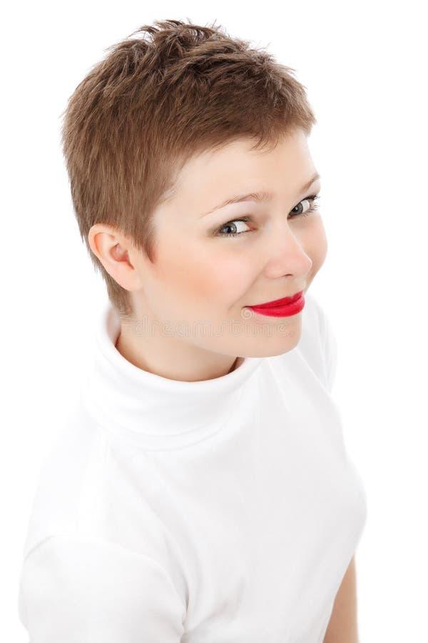 Download Elegant isolerad kvinna arkivfoto. Bild av kanter, mode - 20641598