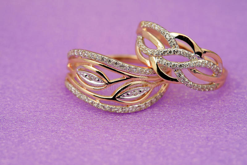 Elegant jewelry royalty free stock photography