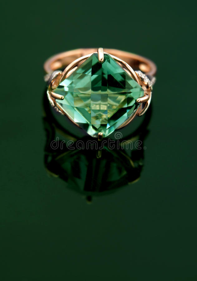 Elegant jewelry ring royalty free stock photography