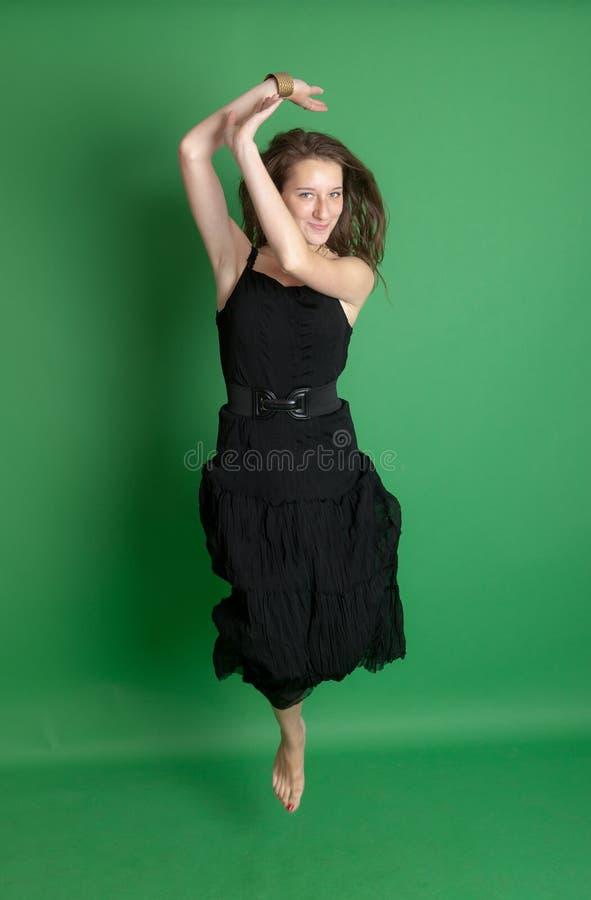 Download Elegant jump stock image. Image of adult, cute, fashion - 23892541