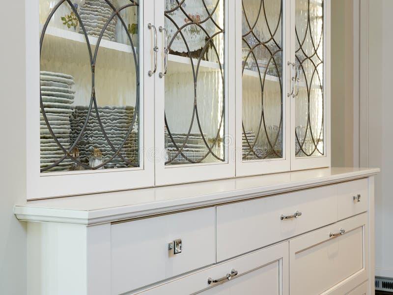 Elegant Kitchen Hutch stock image
