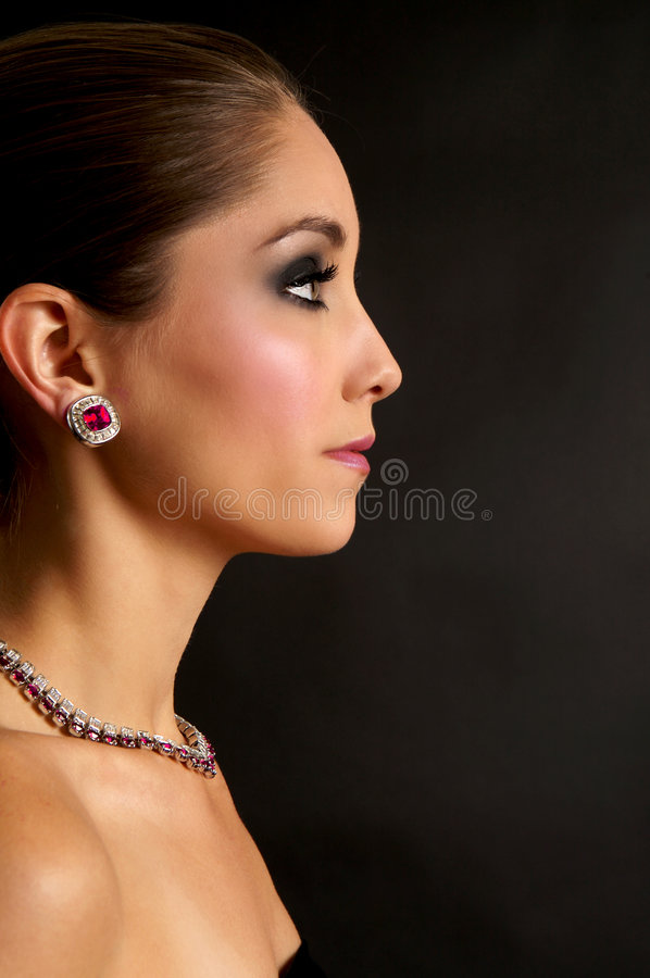 elegant kvinna arkivbild