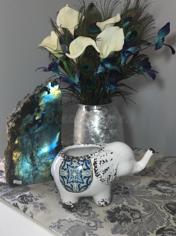 Elegant Labradoriteutrymme royaltyfri fotografi