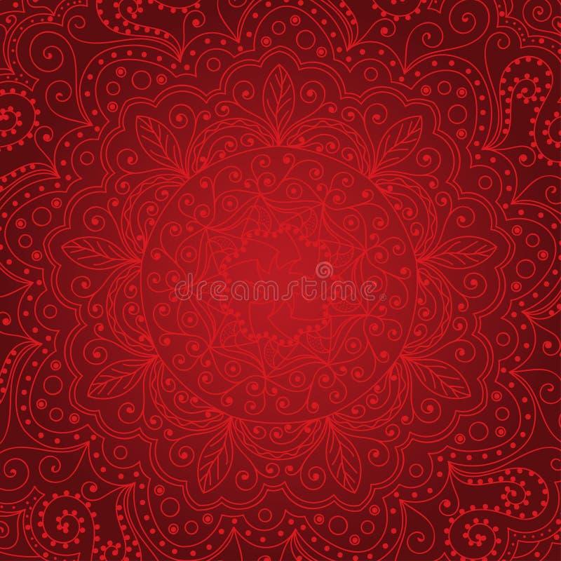 Elegant lace stock illustration